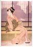 Eizan / Furyu yusuzumi sanbijin (Three elegant women enjoying the evening cool) / circa 1810 - 1820