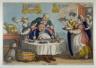 Thomas Rowlandson / The Glutton / 1813
