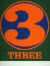 Robert Indiana / Three from the portfolio Numbers / 1968