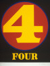 Robert Indiana / Four from the portfolio Numbers / 1968