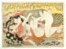 manner of Kitagawa Utamaro / Shunga print / 18th - 19th century