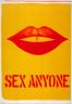 Robert Indiana / Sex anyone? / 20th century