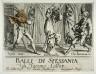 Jacques Callot / Balli di Sfessania-Frontispiece / 1621