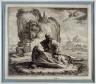 Jacques Callot / St. John on the Isle of Patmos / 1625