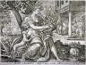 Adriaen Collaert / Acer odorato sequitur canis omnia naso () / 16th - 17th century