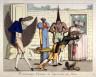 Anonymous / Provinciaux Visitant les Curiosites de Paris / Early 19th Century