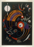 after Wassily Kandinsky / Comets / 1938
