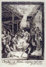Jacques Callot / (One from) The Life of the Virgin (The Nativity of Christ) / 1633