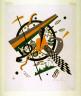 Wassily Kandinsky / Kleine Welten IV from the set Kleine Welten / 1922