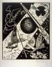 Wassily Kandinsky / Kleine Welten VI from the set Kleine Welten / 1922