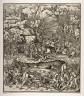 Hans Burgkmair, the Elder / Battle at Dorneck in Switzerland / 15th - 16th century