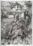 Albrecht Dürer / The Holy Family with the Three Hares / circa 1496