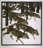 Norbertine von Bresslern-Roth / Wolves in a Winter Landscape / 19th - 20th century