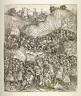 Hans Burgkmair, the Elder / [Battle scene] / 15th - 16th century