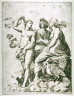 Marco Dente da Ravenna / Juno, Ceres, and Psyche, after Raphael / 15th - 16th century