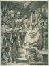 Marcantonio Raimondi / Christ before Caiaphas / 15th - 16th century