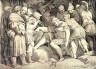Giulio  di Antonio Bonasone / The Wounded Scipio, after Polidoro da Caravaggio / 16th century