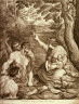 Cesare Fantetti / Charity, after a copy by Trudon after Annibale Carracci / 17 - 18th century
