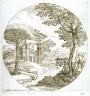 Giovanni Francesco Grimaldi / Landscape with a Column Shaft / 17th century