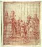 Giovanni da Siena / Abraham and Melchisedek / 16th century