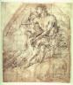 Francesco Solimena (Labbate Ciccio) / Recto:Endymion Verso:Figure / 17th - 18th century