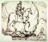 Domenico Gargiulo (Micco Spadaro) / Equestrian Figure / 17th century