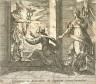 Antonio Tempesta / Aglauros a Mercurio in lapidem transformatur (Mercury Turning Aglauros to Stone), pl. 20 from the series Ovids Metamorphoses / 17th century