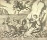Antonio Tempesta / Perseus occisa bellua Andromedam liberat( Perseus Rescuing Andromeda), pl. 40 from the series Ovids Metamorphoses / 17th century