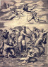After Marcantonio Raimondi / Galatea, after the engraving by Marcantonio Raimondi after the fresco in the Villa Farnasina, Rome / Late 16th Century