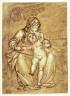 attrib. to Giovanni Battista Castello / Madonna and Child Under a Tree / 16 - 17th century