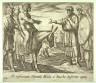 Antonio Tempesta / Ob restitutum Silenum Midae a Baccho defertur optio (Bacchus Granting Midas' Wish), pl. 101   from the series Ovids Metamorphoses / 17th century