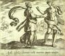 Antonio Tempesta / Apollo Sybillae Cumanae mille annorum aetatem indulget (Apollo Granting the Cumaean Sybil's Wish), pl.133   from the series Ovids Metamorphoses / 17th century