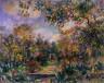 Pierre-Auguste Renoir / Landscape at Beaulieu / circa 1893