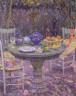 Henri Le Sidaner / Table in the Garden / 19th - 20th century