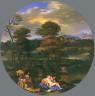Giovanni Francesco Grimaldi / Landscape with Venus and Cupid / circa 1651