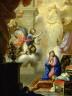 Francisco Antonio Melendez / The Annunciation / 1710