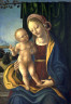Anonymous / Madonna and Child with painted frame / circa 1500