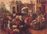 Joachim Beuckelaer / The Market Place / 1565
