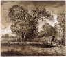 John Constable / View on the Dell at Denham / 18th - 19th century