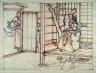 Yoshitoshi / Flute Player / 19th Century