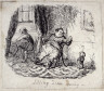 George Cruikshank / Idling Time Away / 18th - 19th century