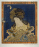 Kunisada / [Woman and two butterflies] / 1820 - 1830