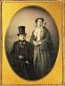 L.H. Hale / Portrait of man and woman / ca. 1860