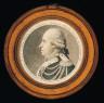 Fouquet / A.J.A. Ruihiere Chef de la division de Cavalerie de la garde Nationale Parisienne né l 6 janvier 1731. dess. p. Fouquet.gr.p. Chret ien inv. du physionotrace Cloitre 3d honoré à Paris. / ca. 1790