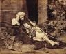 William M. Grundy / Arab Reclining / 1857
