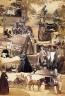 Unidentified Photographer / English portraits & landscapes photomontage / ca. 1870