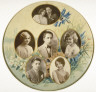 Charles L. Ritzmann / Group of Actors / ca 1870