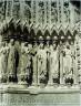 Henri Le Secq / Reims Cathedral, detail, jamb figures / ca. 1851