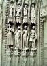 Henri Le Secq / Strasbourg Cathedral jamb figures / 1851