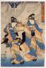 Utagawa Kunisada (Toyokuni III) / Autumn Festival Dance, Gosekku / 19th Century